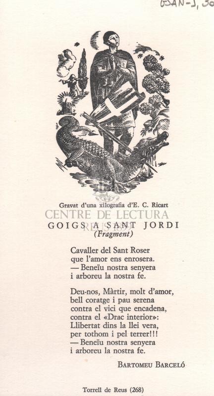Goigs a Sant Jordi