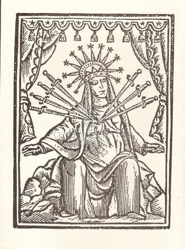 Goigs a llaor dels set dolors de la Mare de Déu
