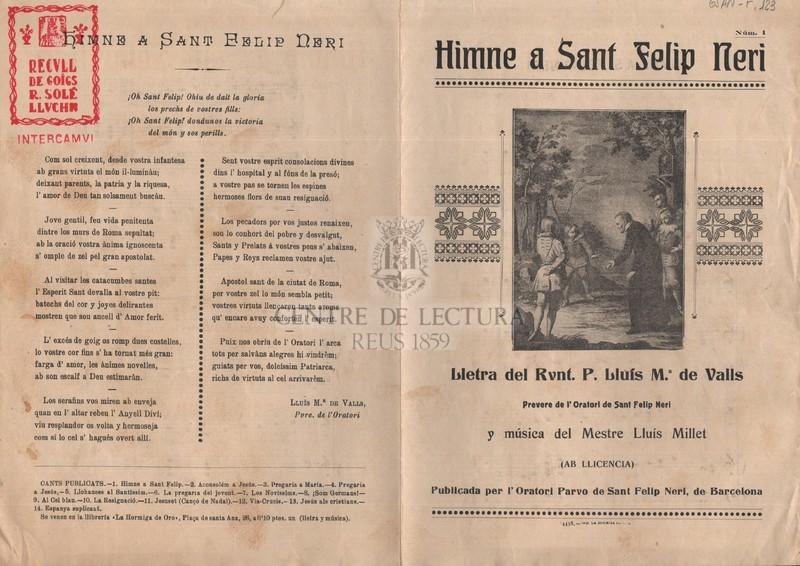 Himne a Sant Felip Neri