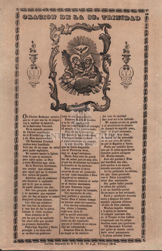 Oracion de la Ss. Trinidad