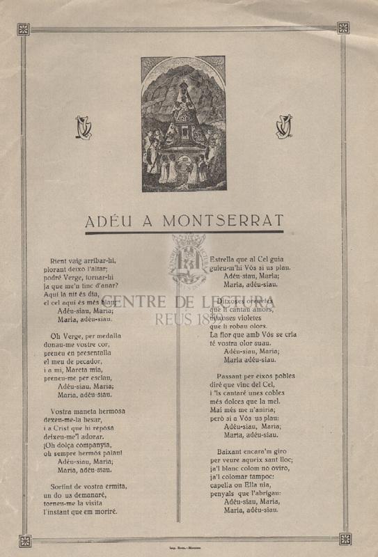 Adéu a Montserrat