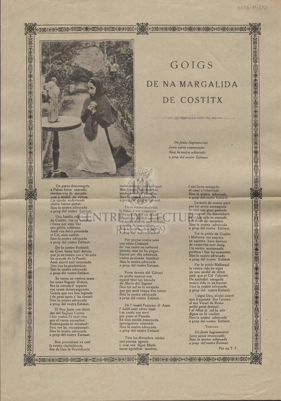 Goigs de na Margalida de Costitx