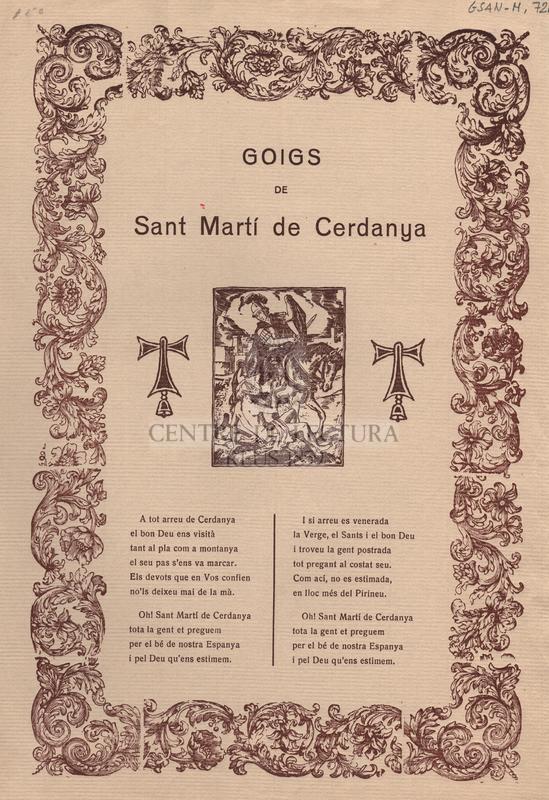 Goigs de Sant Martí de Cerdanya