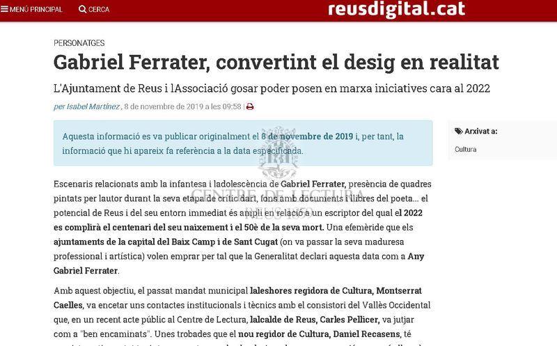 Gabriel Ferrater, convertint el desig en realitat