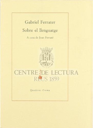 Sobre el llenguatge