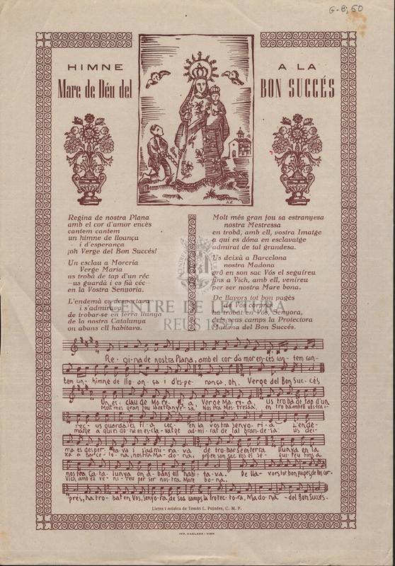 Himne a la Mare de Déu del Bon Succés.