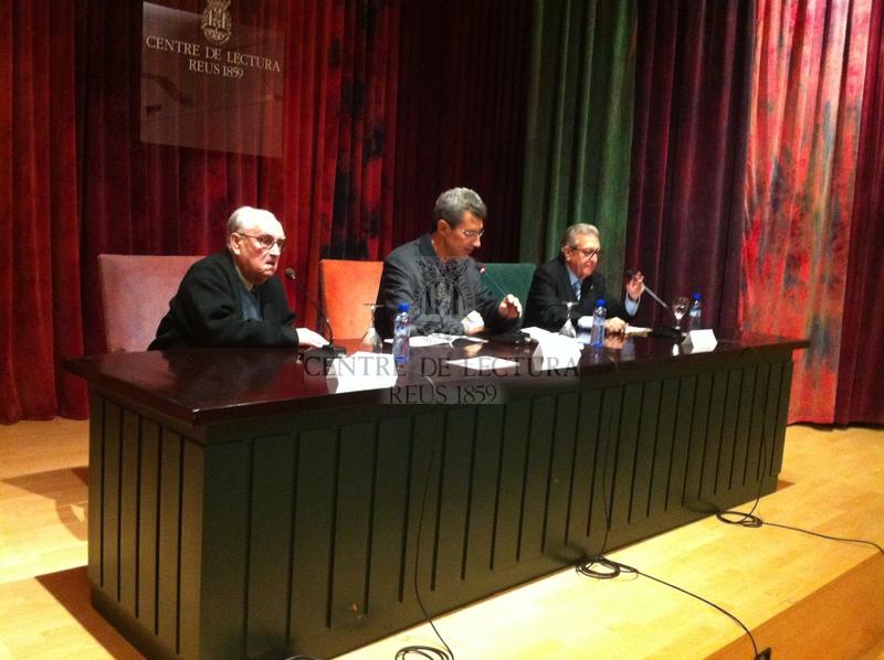 """Presentació del llibre """"Que creguin, de grat o per força!, de Josep Gil Ribas, presentació a càrrec de Jaume Gil Aluja"""