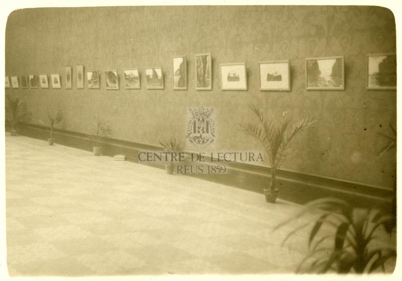 Exposició d'art al Centre de Lectura