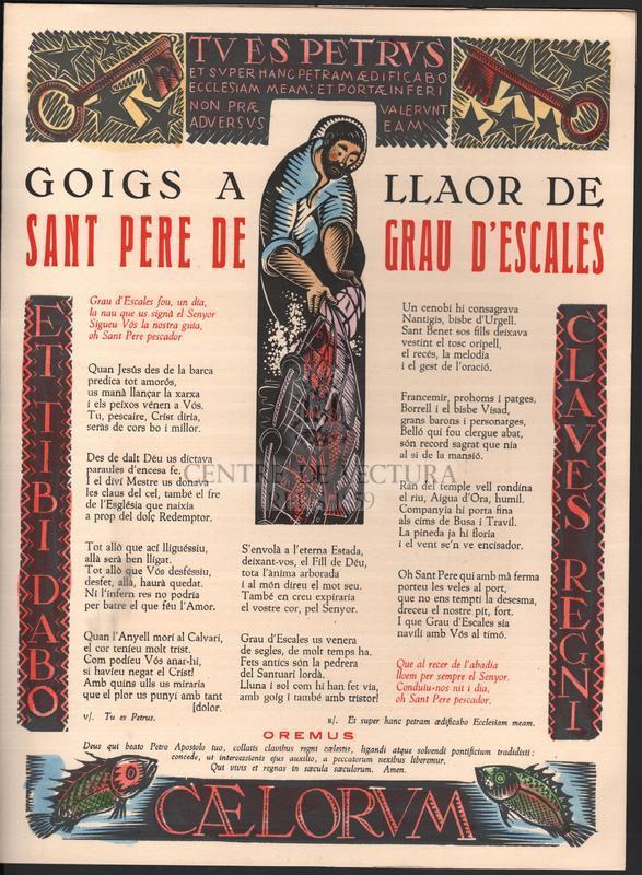 Goigs a llaor de Sant Pere de Grau d'Escales