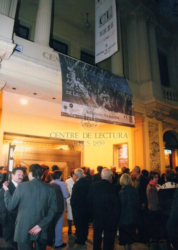 Sopar commemoratiu del 150è aniversari del Centre de Lectura