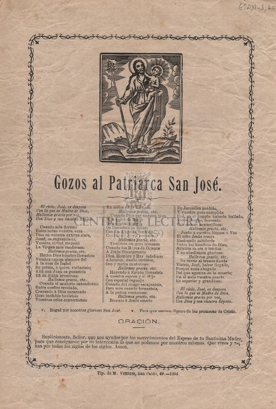 Gozos al Patriarca San José