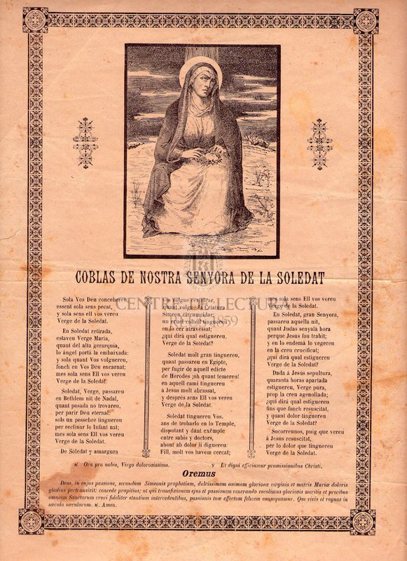 Coblas de Nostra Senyora de la Soledat