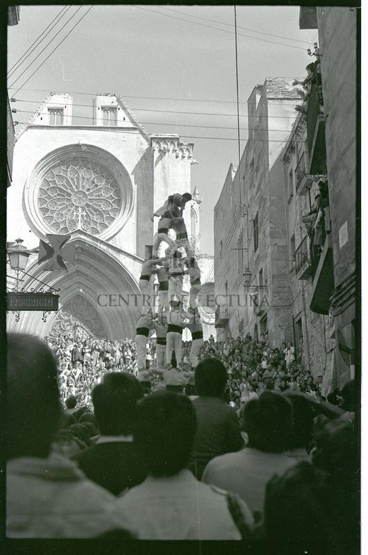 Castellers a Tarragona