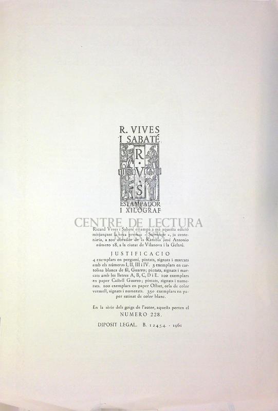 Goigs en lloança del Sant Crist del Vinyet, de Sitges