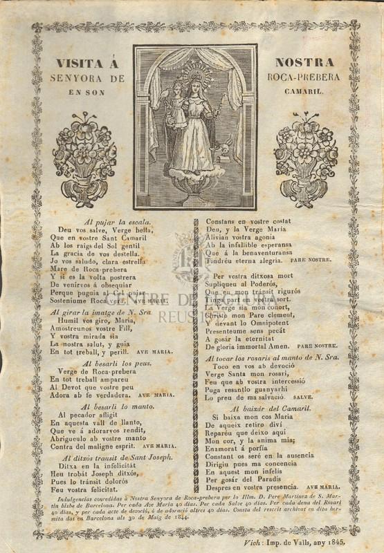 Visita a Nostra Senyora de Roca- Prebera en son Camaril