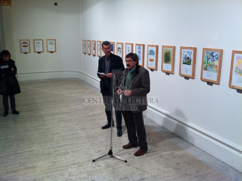 """Inauguració de l'exposició """"Entre el cel i la terra"""" de Josep Santesmases"""