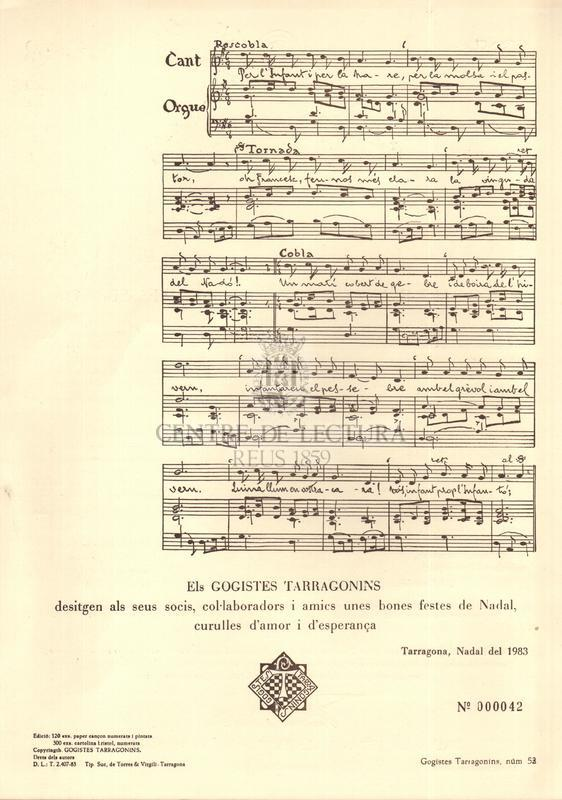 Goigs a llaor de Sant Francesc d'Assís, primer pessebrista