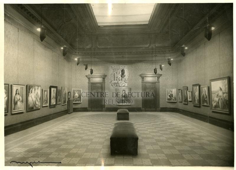 Exposició de pintures de Juli Moisès al Centre de Lectura
