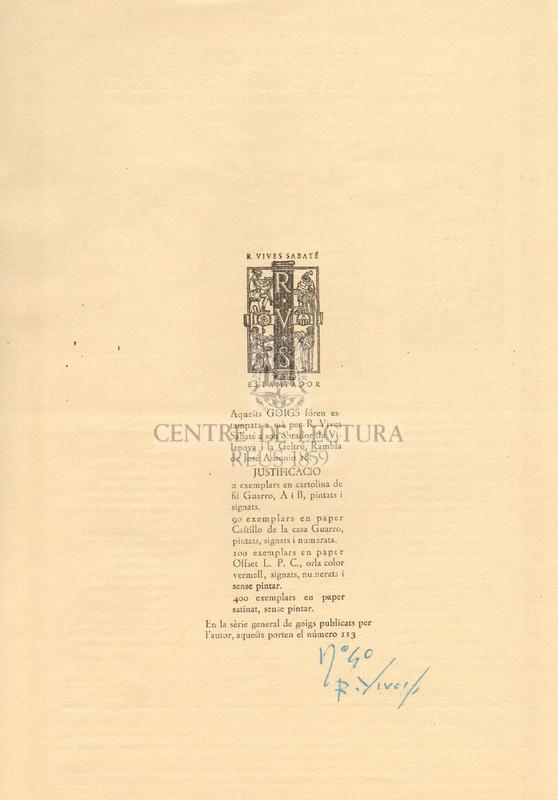 Goigs en llaor de Santa Maria dels Reis o del Pi venerada a la seva santa Esglesia Basílica de Barcelona