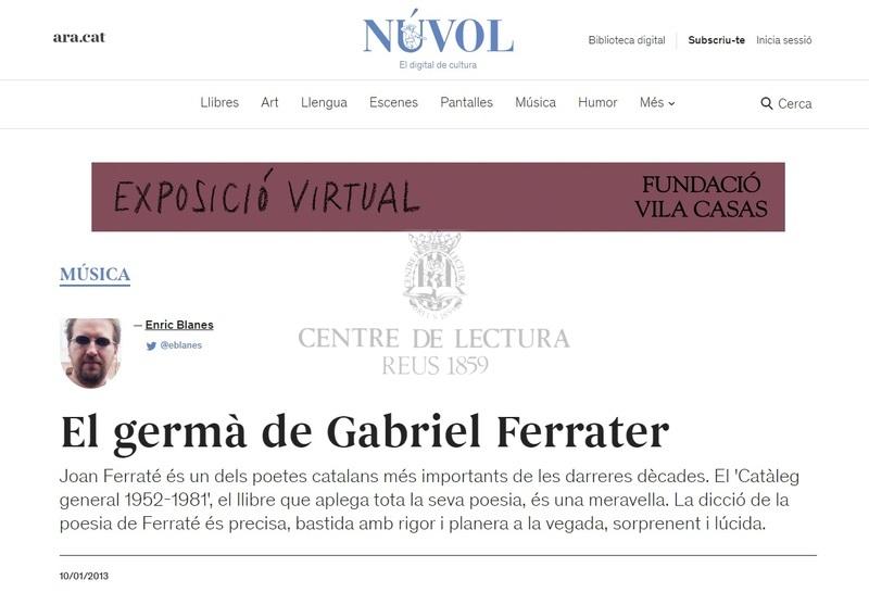 El germà de Gabriel Ferrater