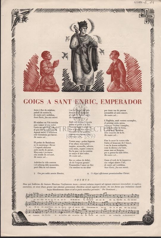 Goigs Sant Enric, Emperador.