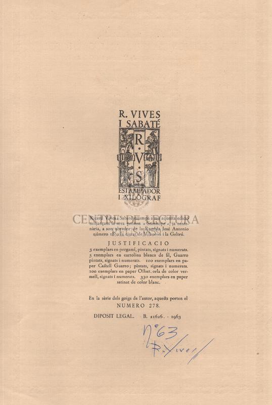 Goigs en llaor del glorios martir Sant Cristofol cantats a la seva ermita de Vilanova i la Geltrú