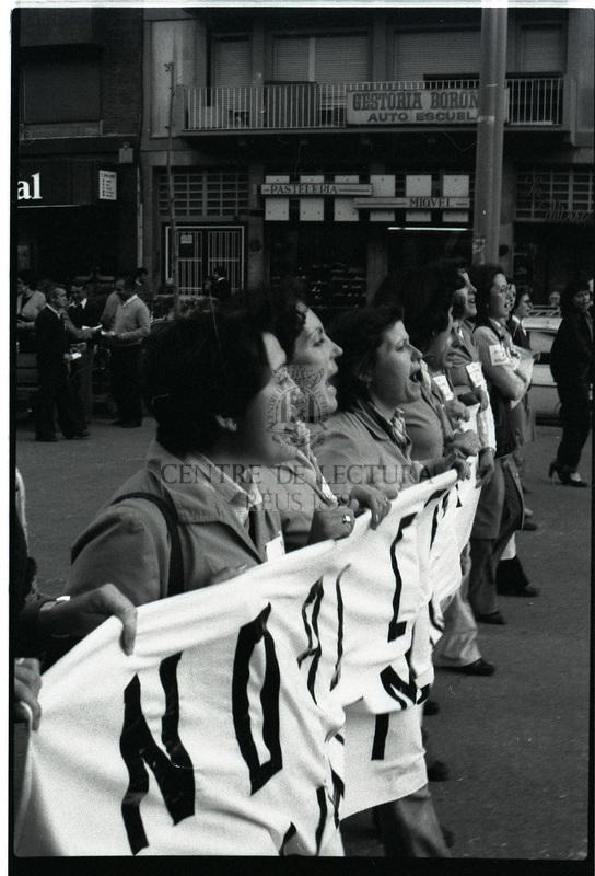 Manifestació del Dia Internacional dels Treballadors