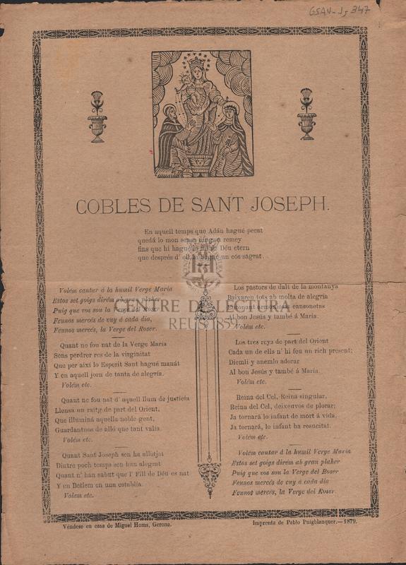 Cobles de Sant Joseph