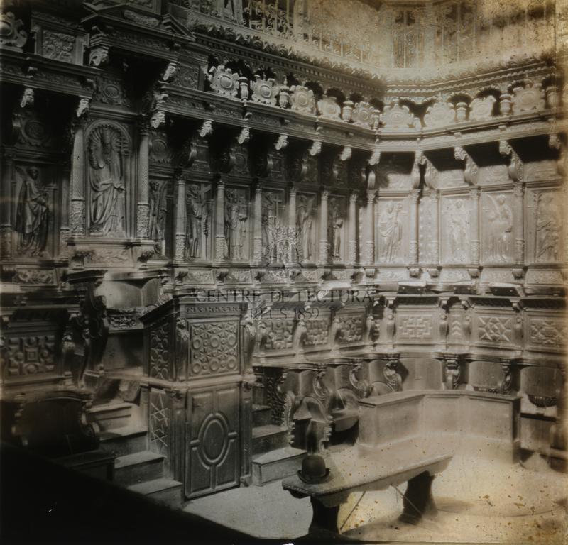 Interior església
