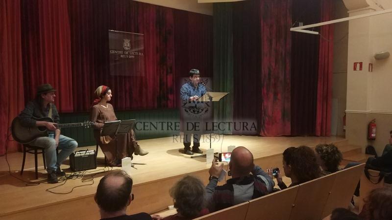"""Presentació del poemari """"El gest d'Yrit"""" de Conxita Jiménez, a càrrec de Lena Paüls"""