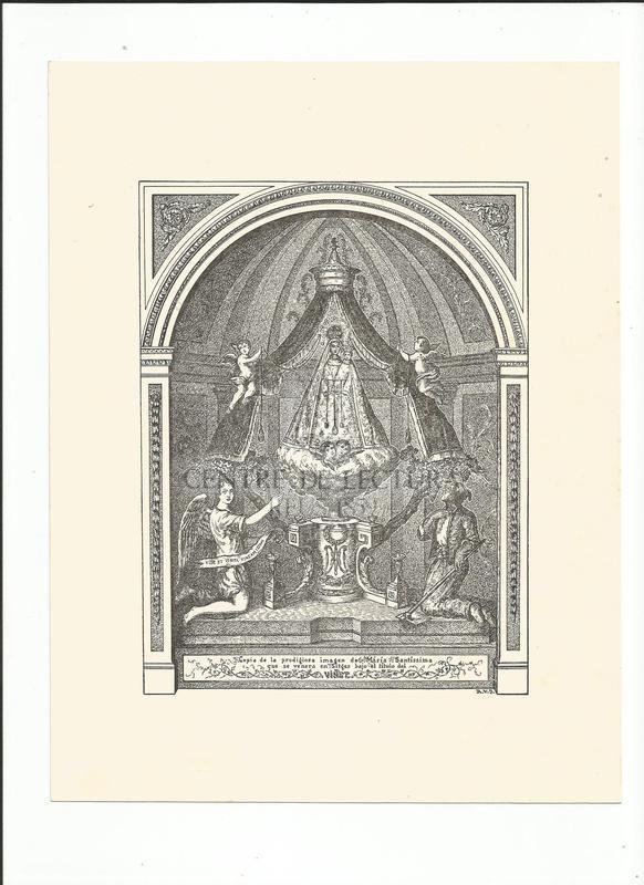 Goigs a llaor de la benaventurada Santa Maria del Vinyet venerada a la seva ermita de Sitges. Bisbat de Barcelona