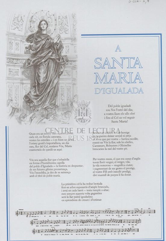 A Santa Maria d'Igualada