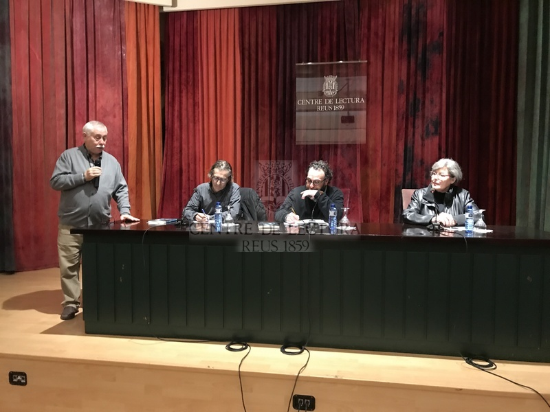 Presentació de la novel·la &quot;Una mena de culpa&quot; de Daniel Recasens, a càrrec de Ramon Sanz<br /><br />