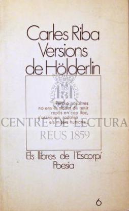 Versions de Hölderlin
