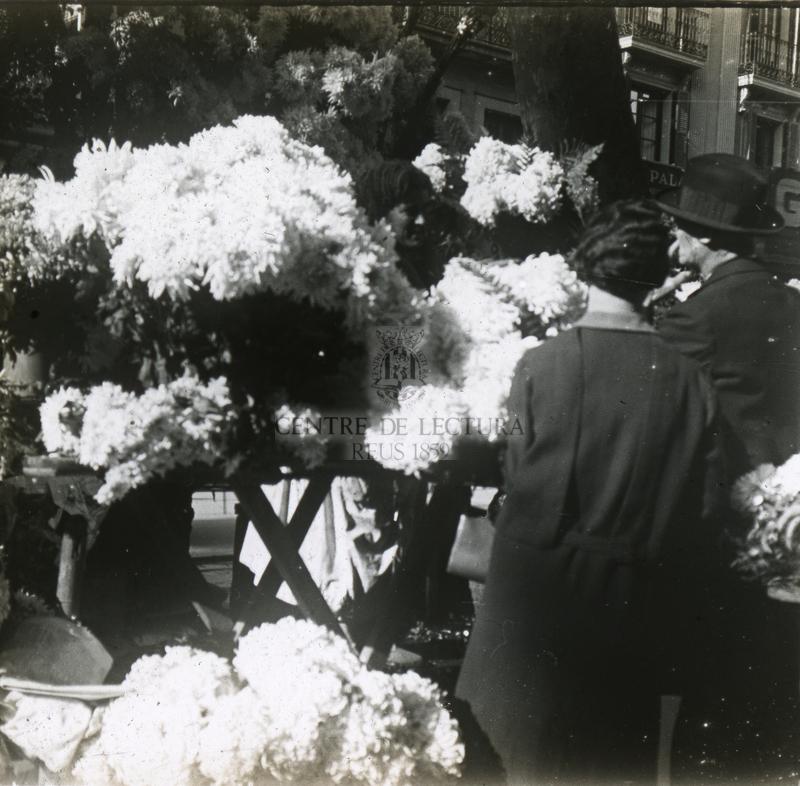 Parada de flors al carrer