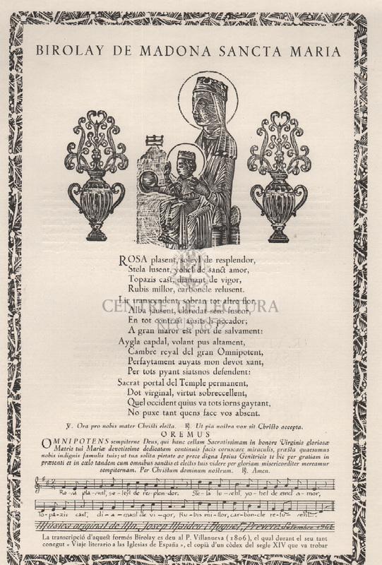 Birolay de Madona Sancta Maria