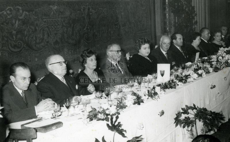 Homenatge a Enric Aguadé Parés, president del Centre de Lectura
