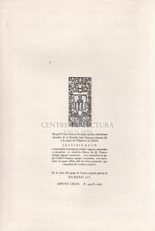 Goigs en llaor del glorios Martir Sant Sadurni, Bisbe de Tolosa. Excels patró de Castellví de la Marca