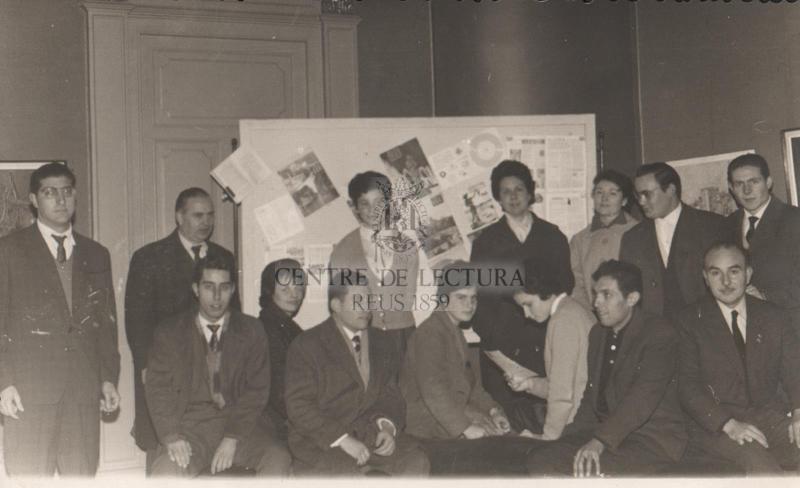 Exposició  col·lectiva de pintors  al Centre de Lectura de Reus