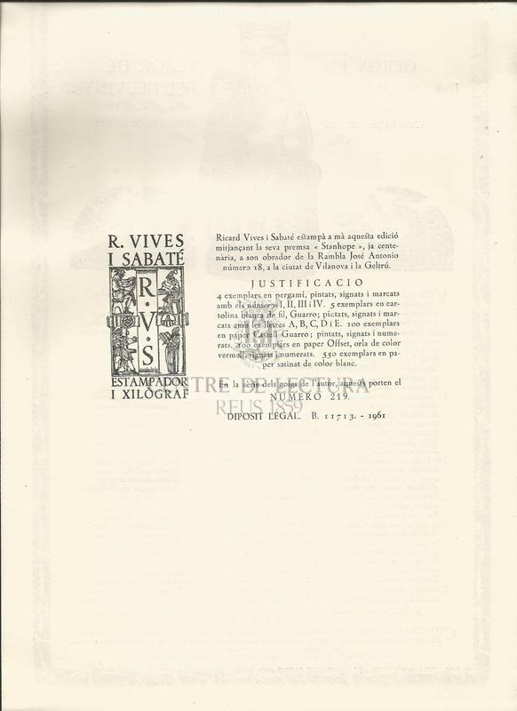 Goigs en llaor de la Mare de Déu del Vinyet venerada al seu Santuari de Sitges