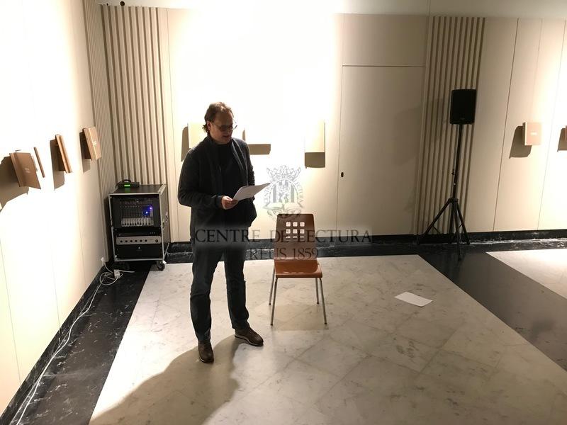"""Inauguració de l'exposició """"Territorial"""" d'Elisenda Rosàs"""