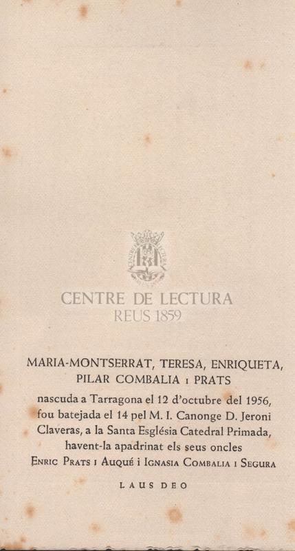 Virolai a Santa Maria de Montserrat.