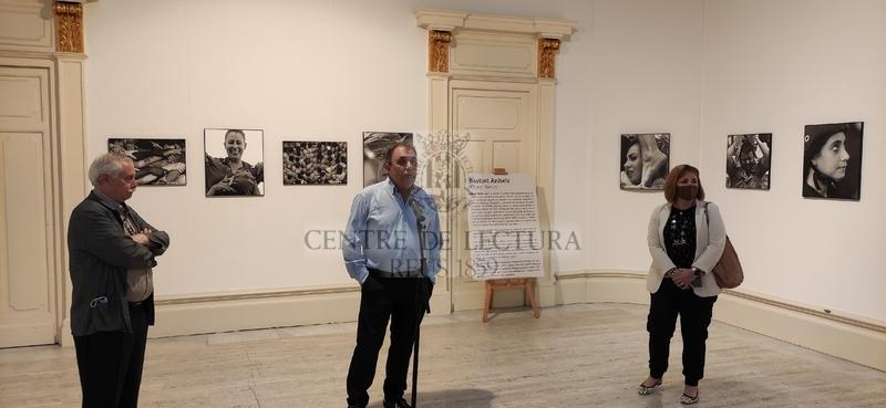 """Inauguració de l'exposició """"Bastint anhels"""" d'Albert Nel·lo"""