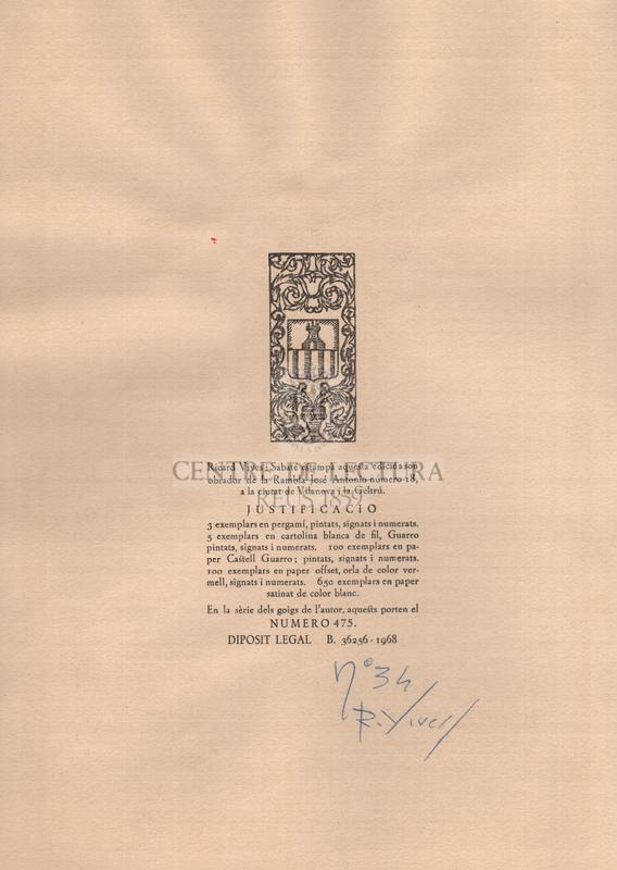 Goigs en lloança de Santa Maria de Magdalena excelsa Patrona i titular de la parroquia de Canyelles de l'Arquebisbat de Barcelona.