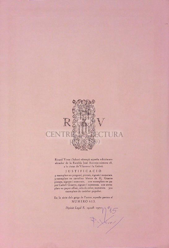 Goigs en llaor de l'Apostol Sant Pau excels patró de la Parroquia de Sant Pau d'Ordal Arquebisbat de Barcelona
