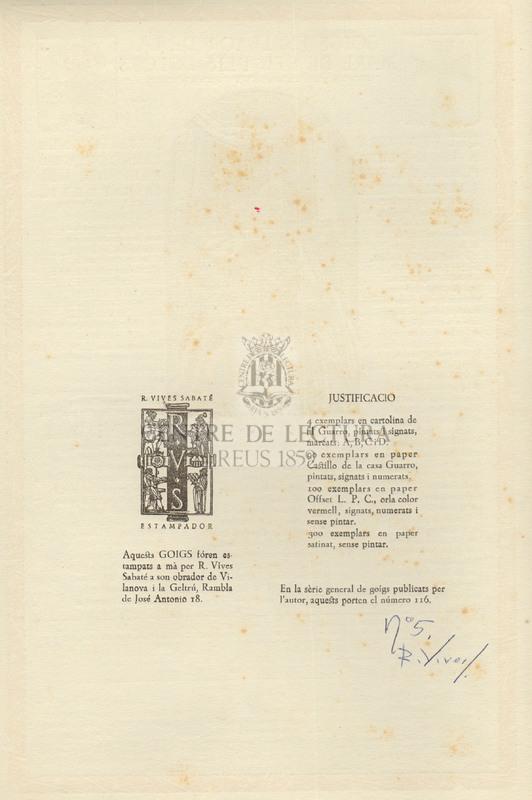Goigs en llaor de la Mare de Deu dels Dolors que es venera a la capella publica del Mas Torrellebreta pertanyent a la parroquia de Balenya, del bisbat de Vic