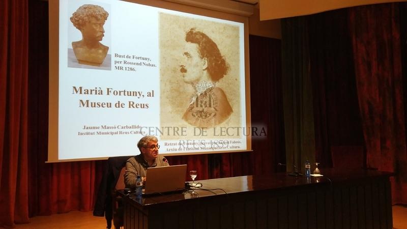 """Conferència: """"Marià Fortuny a través de les seves obres al Museu de Reus"""" a càrrec de Jaume Massó, arqueòleg i historiador"""