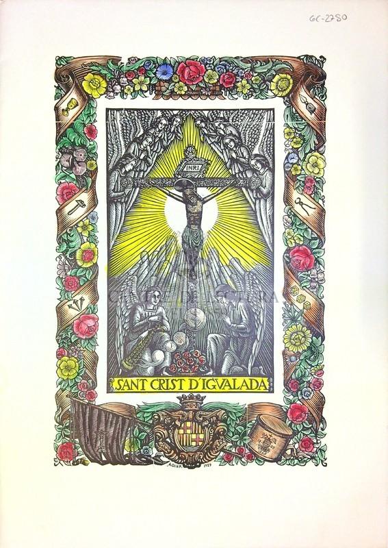 Goigs a llaor del St. Crist d'Igualada