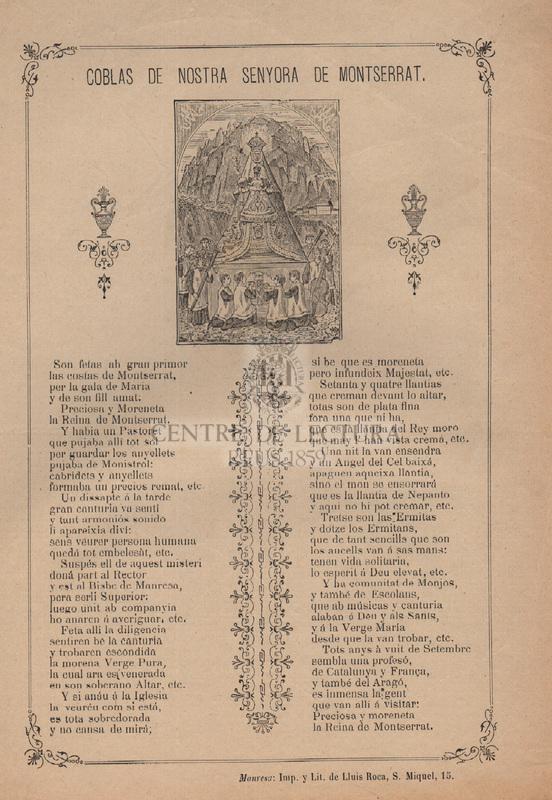 Coblas de Nostra Senyora de Montserrat