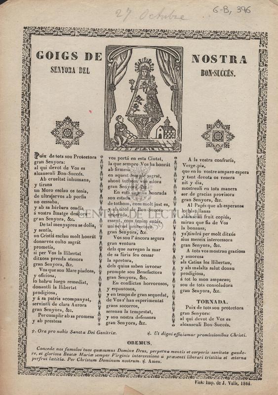 Goigs de Nostra Senyora del Son-Succés